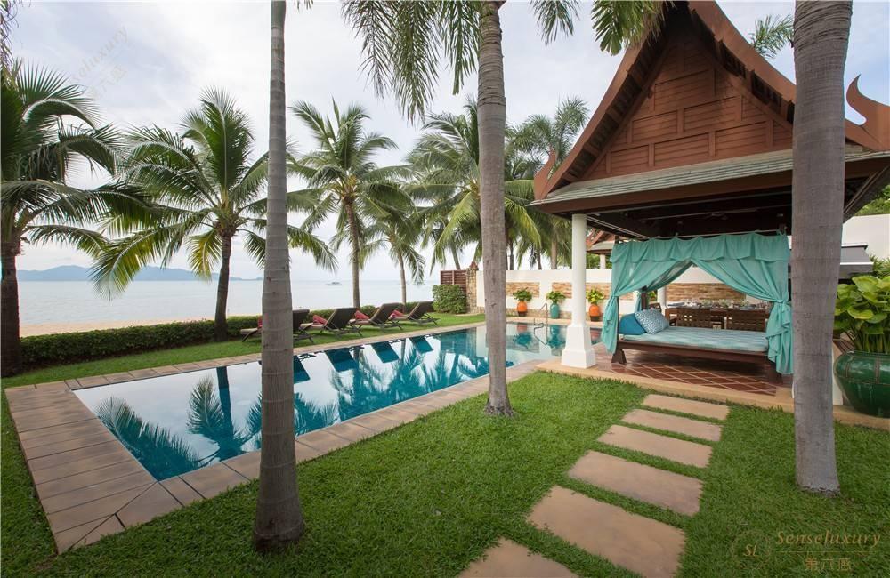 泰国苏梅岛密斯卡湾金合欢别墅独立泳池