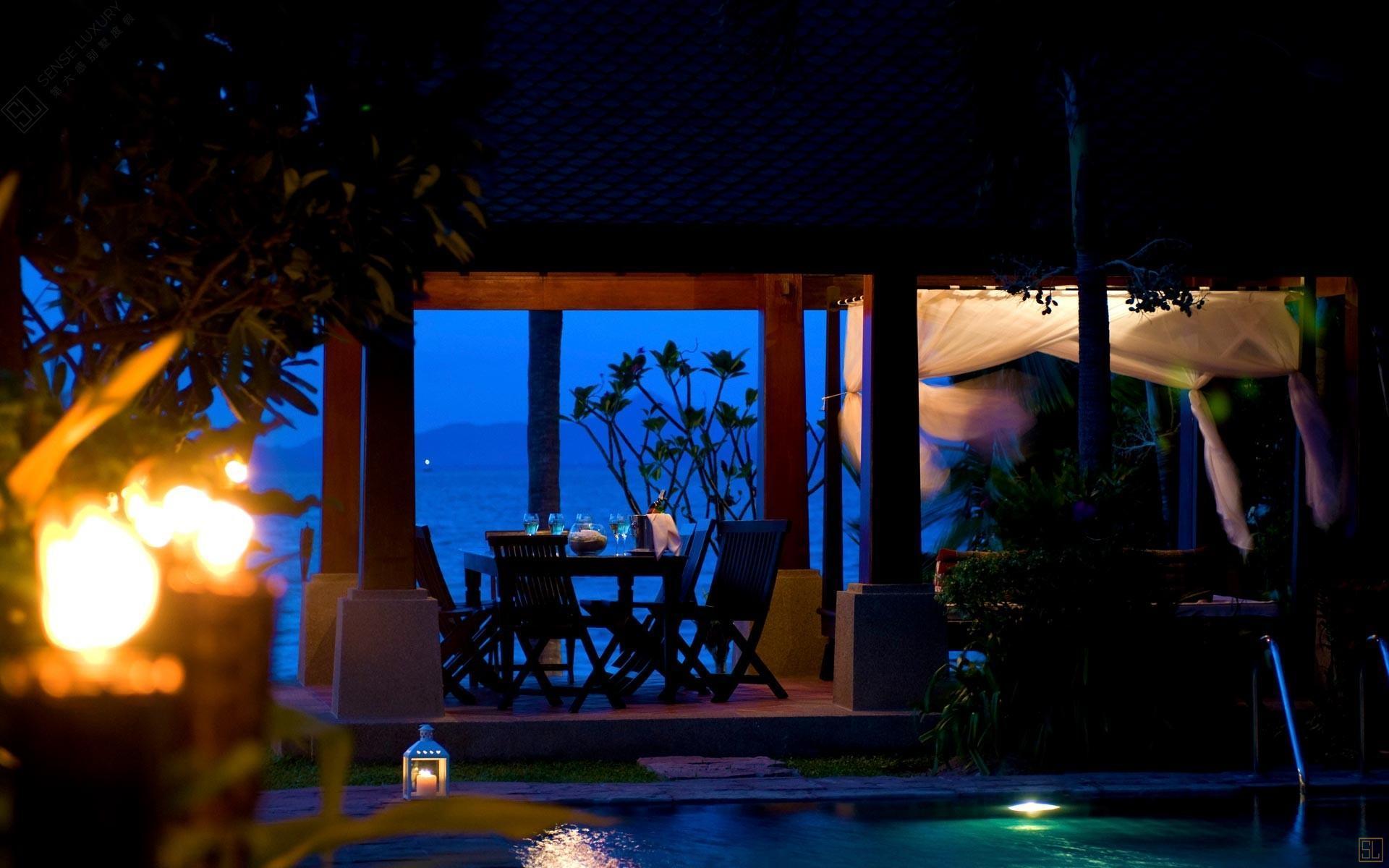 泰国苏梅岛密斯卡湾罗望子别墅餐厅