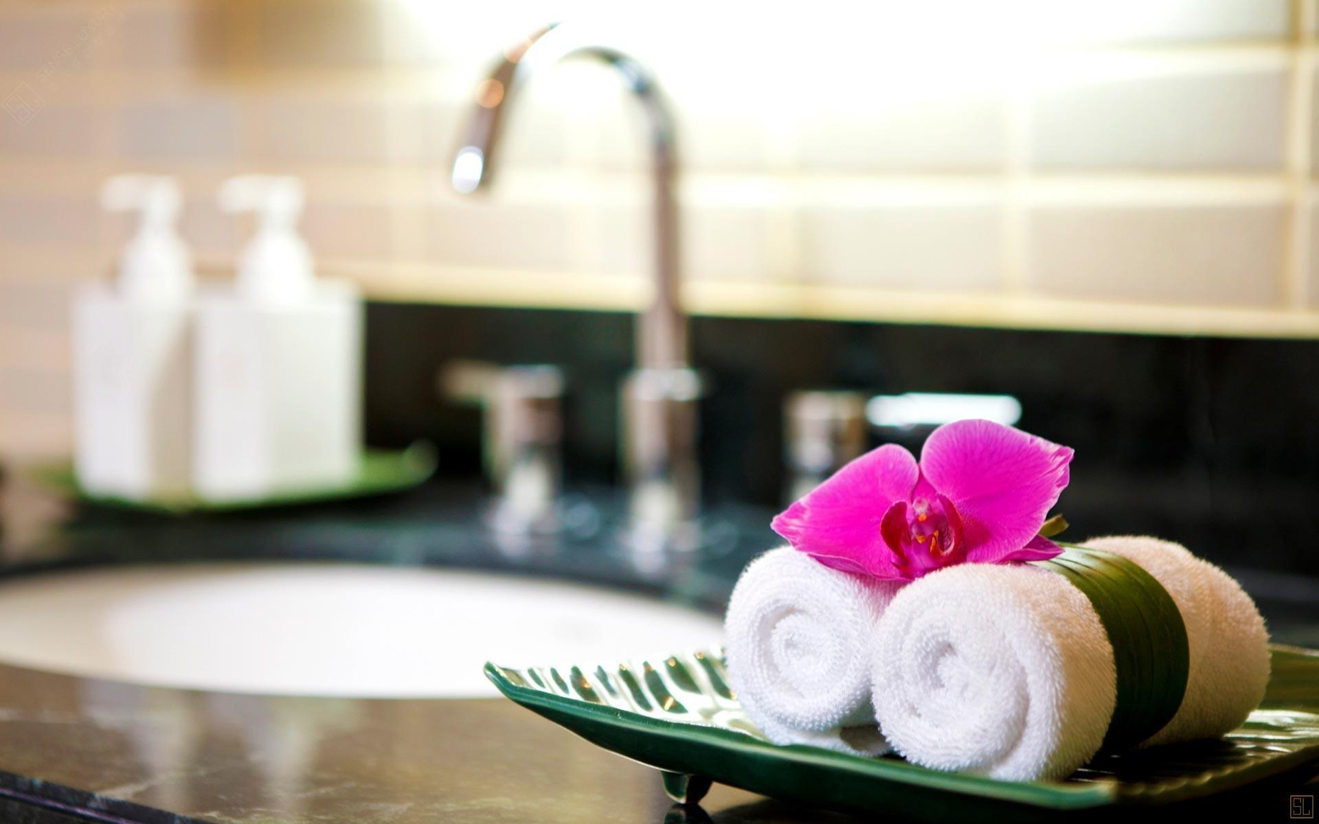 泰国苏梅岛密斯卡湾九重葛别墅浴室