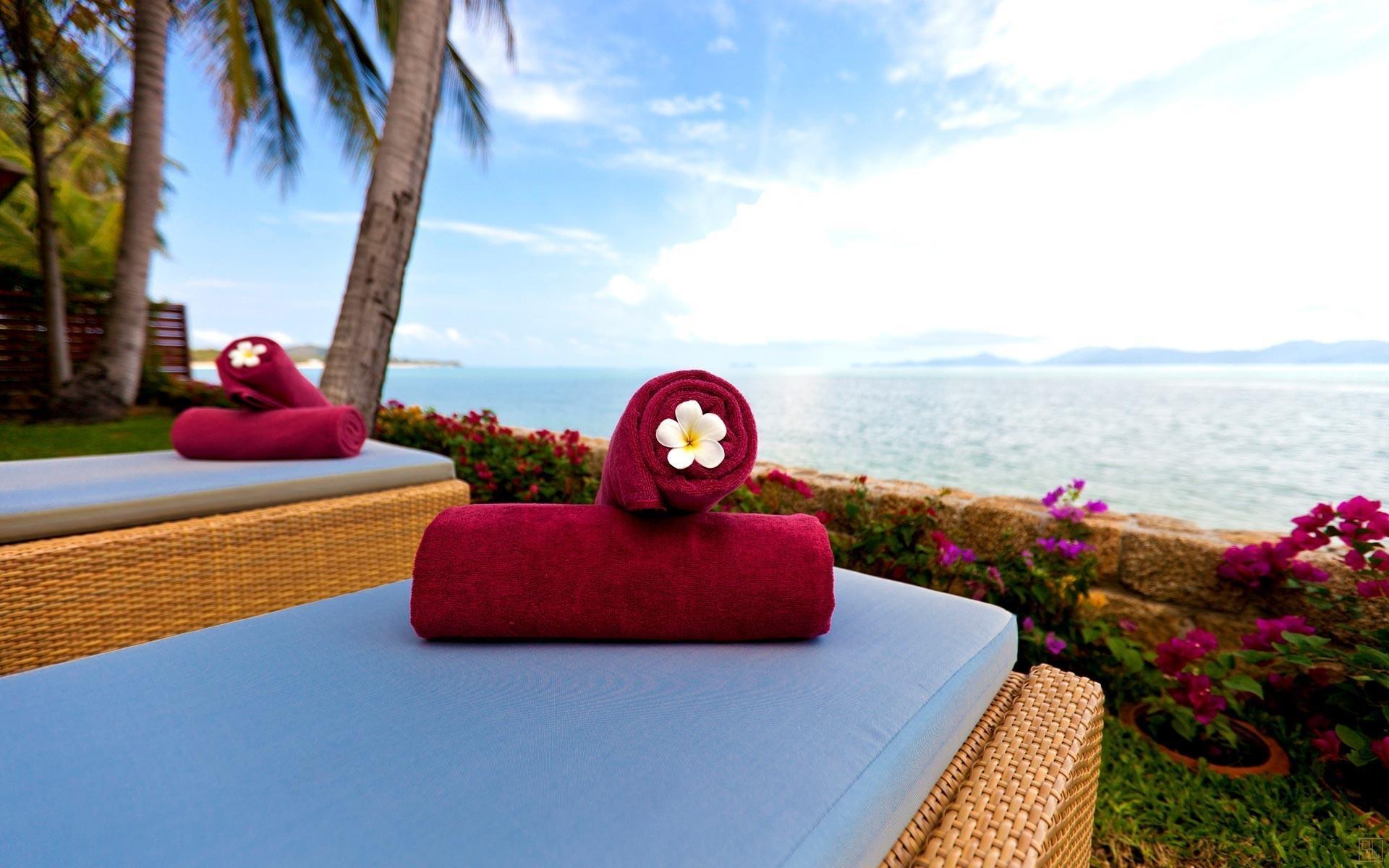 泰国苏梅岛密斯卡湾素馨别墅浴巾