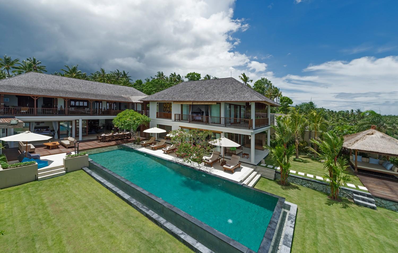 印尼巴厘岛浅田别墅独立泳池