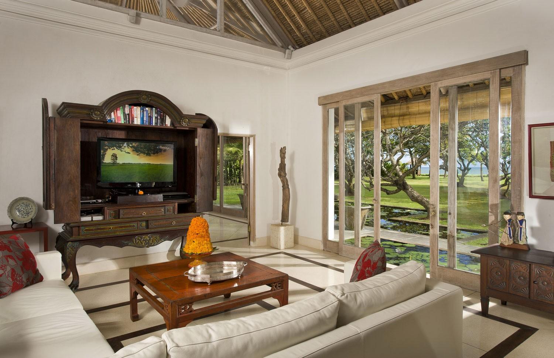 印尼巴厘島阿特斯別墅客廳內景