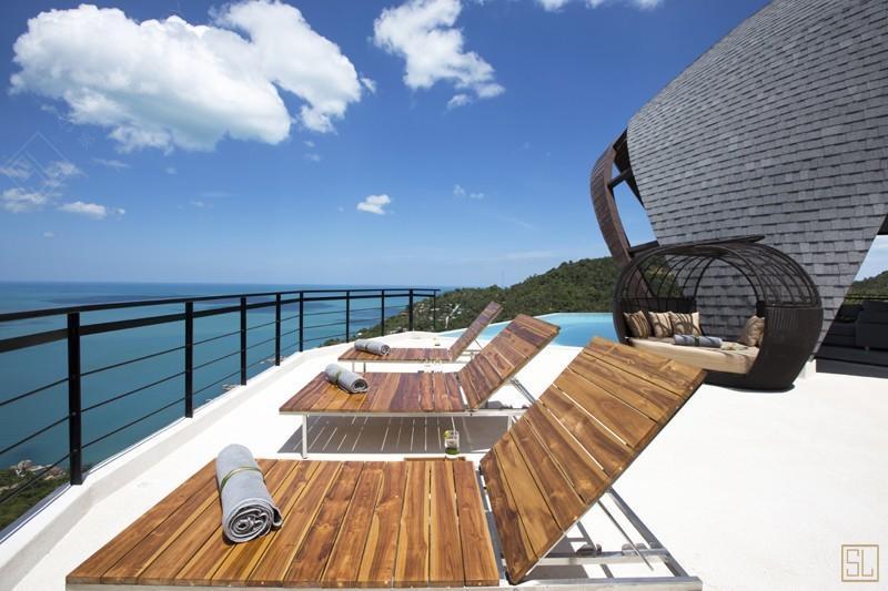泰国苏梅岛月影别墅太阳椅