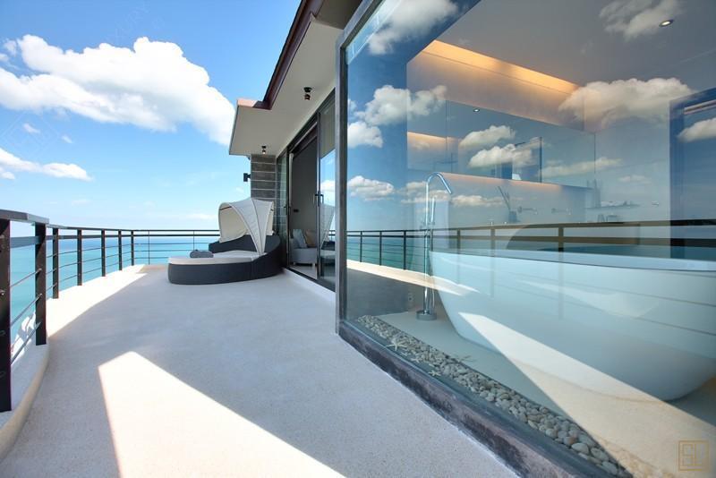 泰国苏梅岛月影别墅阳台