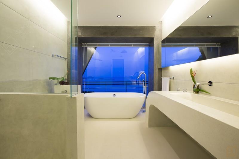 泰国苏梅岛月影别墅浴缸
