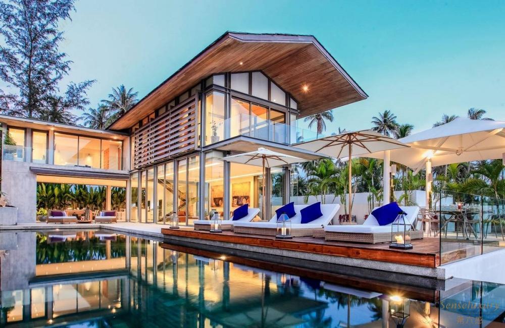 泰国普吉岛若索别墅泳池