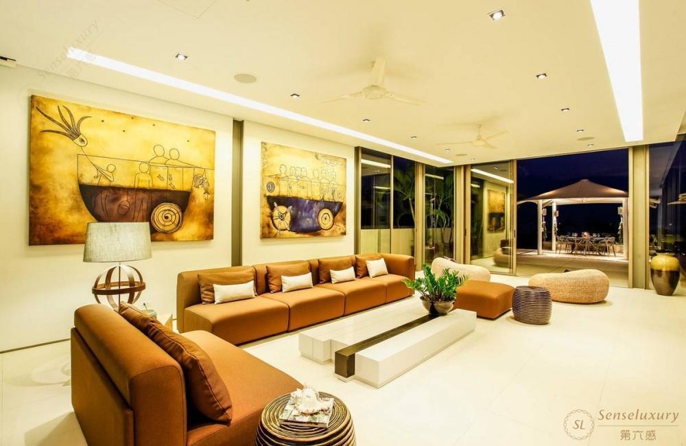 泰国普吉岛若索别墅客厅