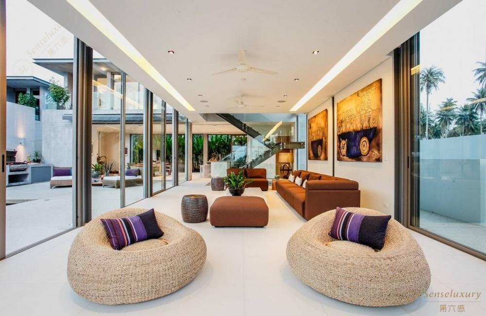 泰国普吉岛若索别墅沙发