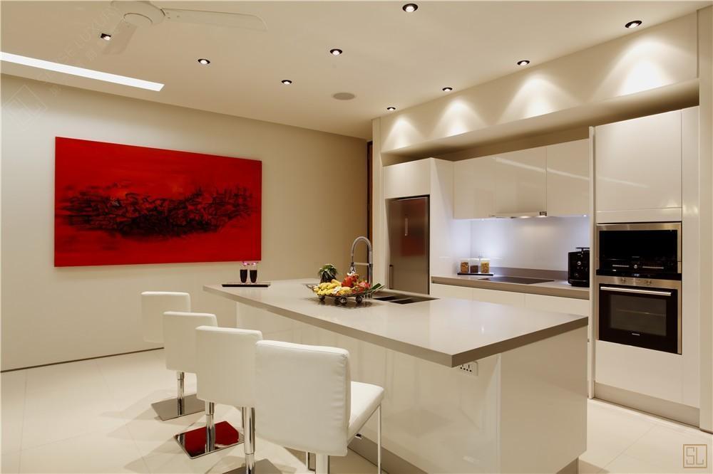 泰国普吉岛夏尔别墅厨房