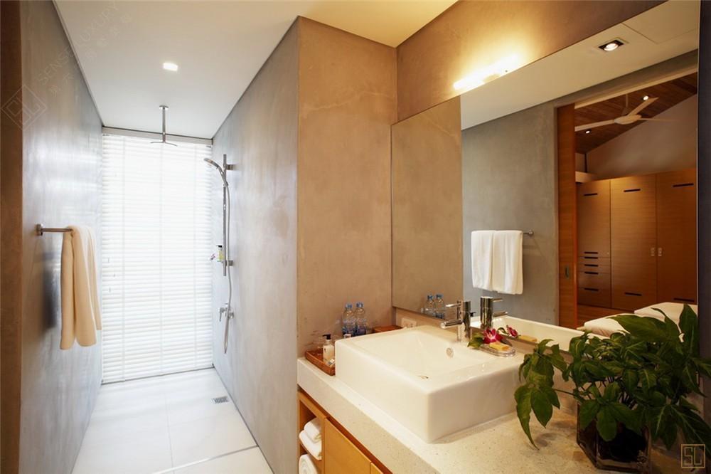 泰国普吉岛夏尔别墅洗手间