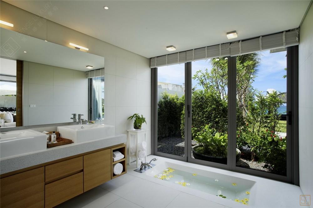泰国普吉岛夏尔别墅浴缸