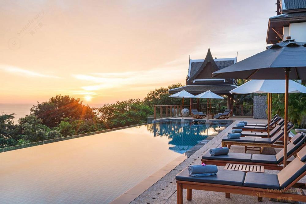 泰国普吉岛艾逸别墅泳池