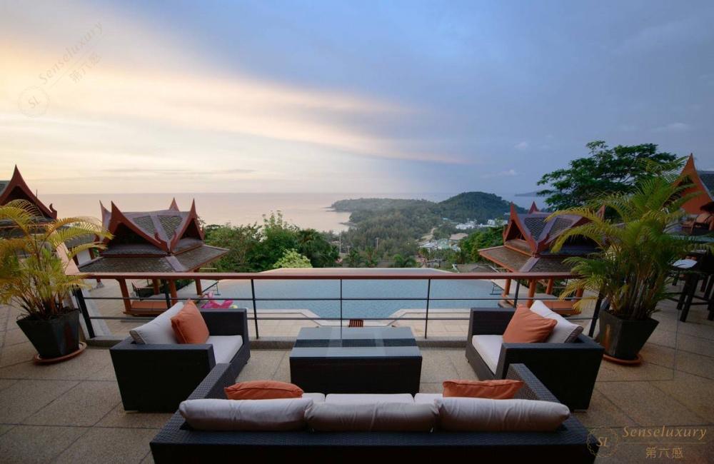 泰国普吉岛瑞卡塔湾别墅 沙发