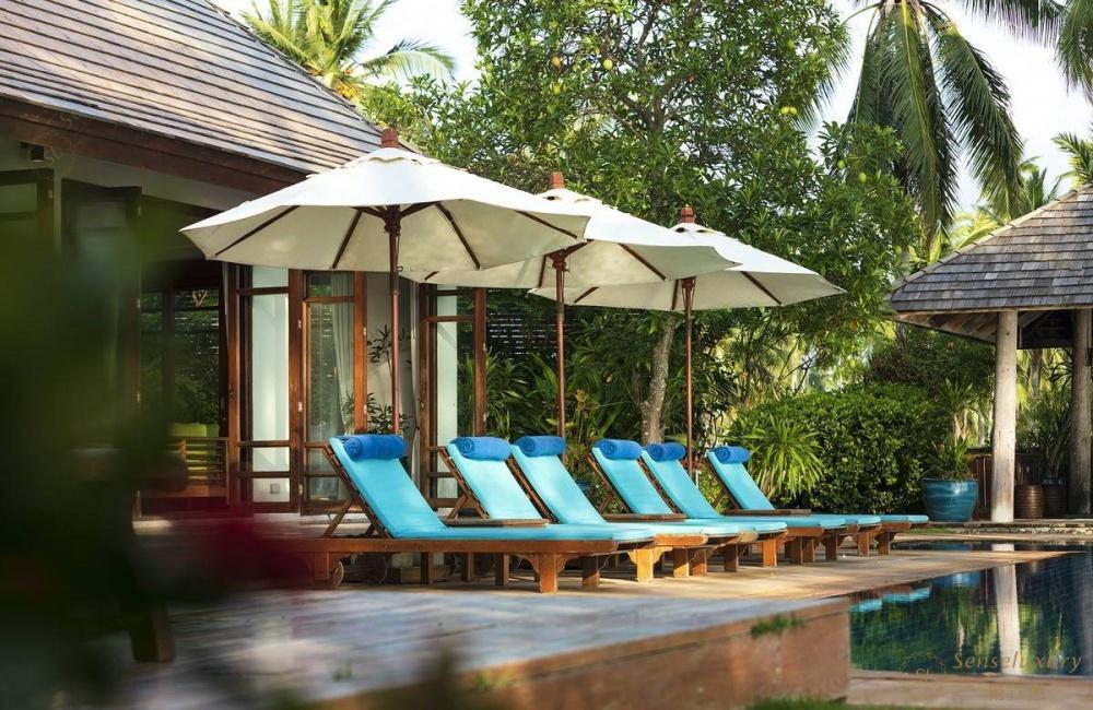 泰国苏梅岛维玛丽别墅客厅