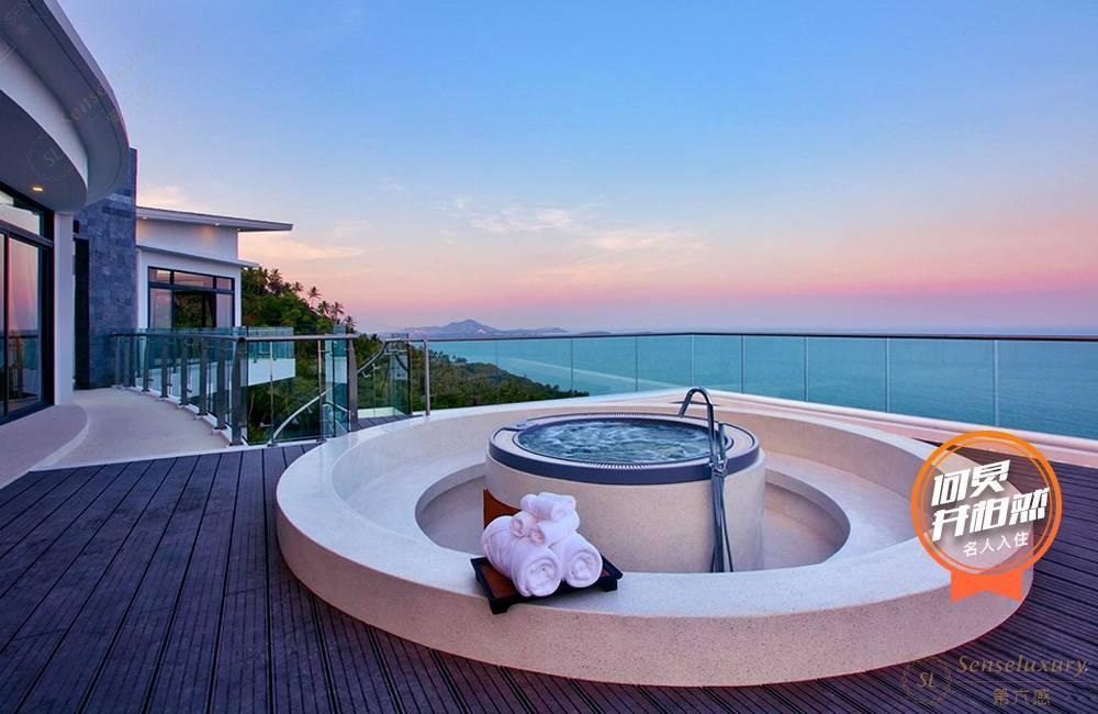泰国苏梅岛萨瓦蒂别墅海景