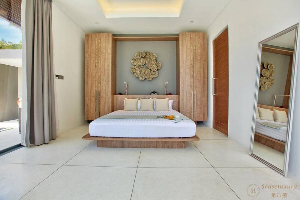 泰国苏梅岛妮恩别墅卧室
