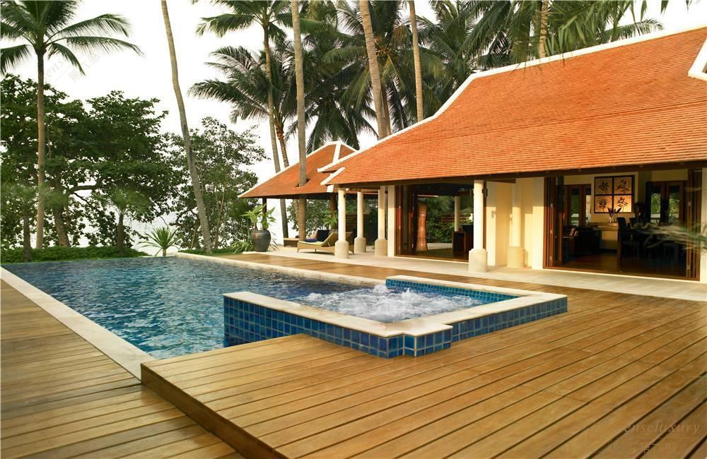 泰国苏梅岛娇蕾别墅喷泉