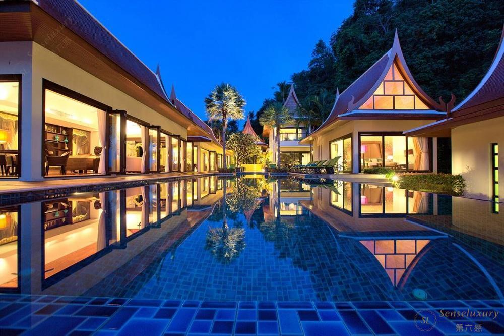 泰国苏梅岛象语别墅全景