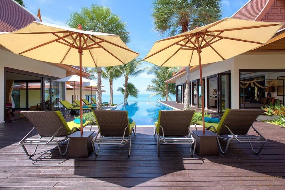 泰国苏梅岛象语别墅遮阳伞