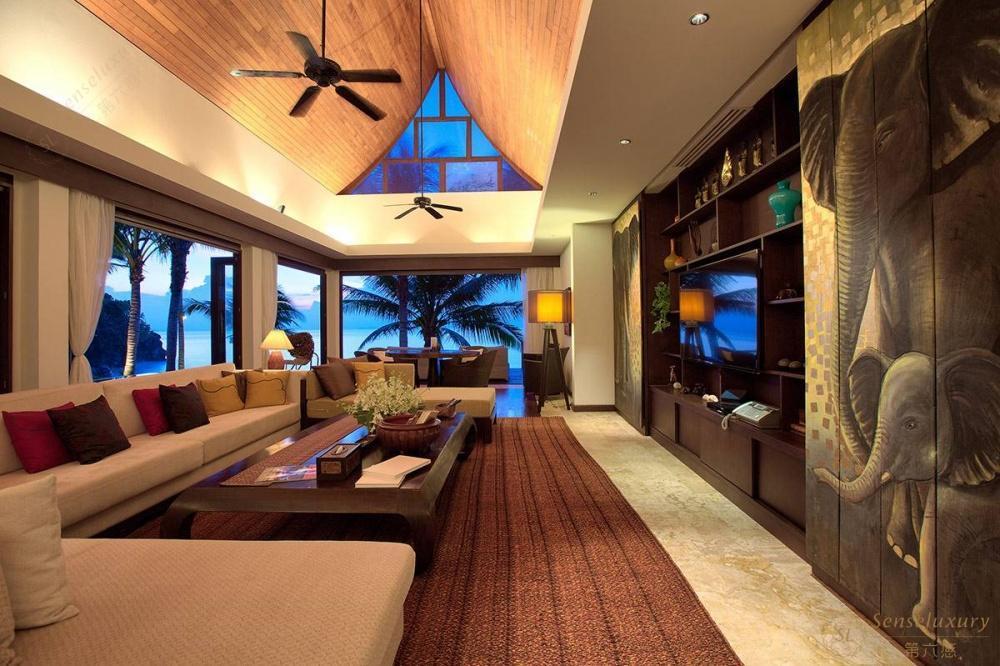 泰国苏梅岛象语别墅客厅