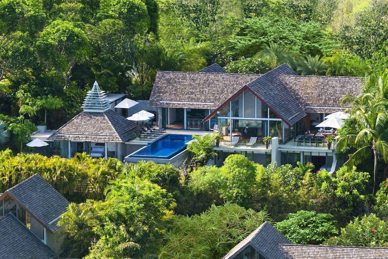 泰国普吉岛萨姆萨拉-班雅诗瑞别墅全景