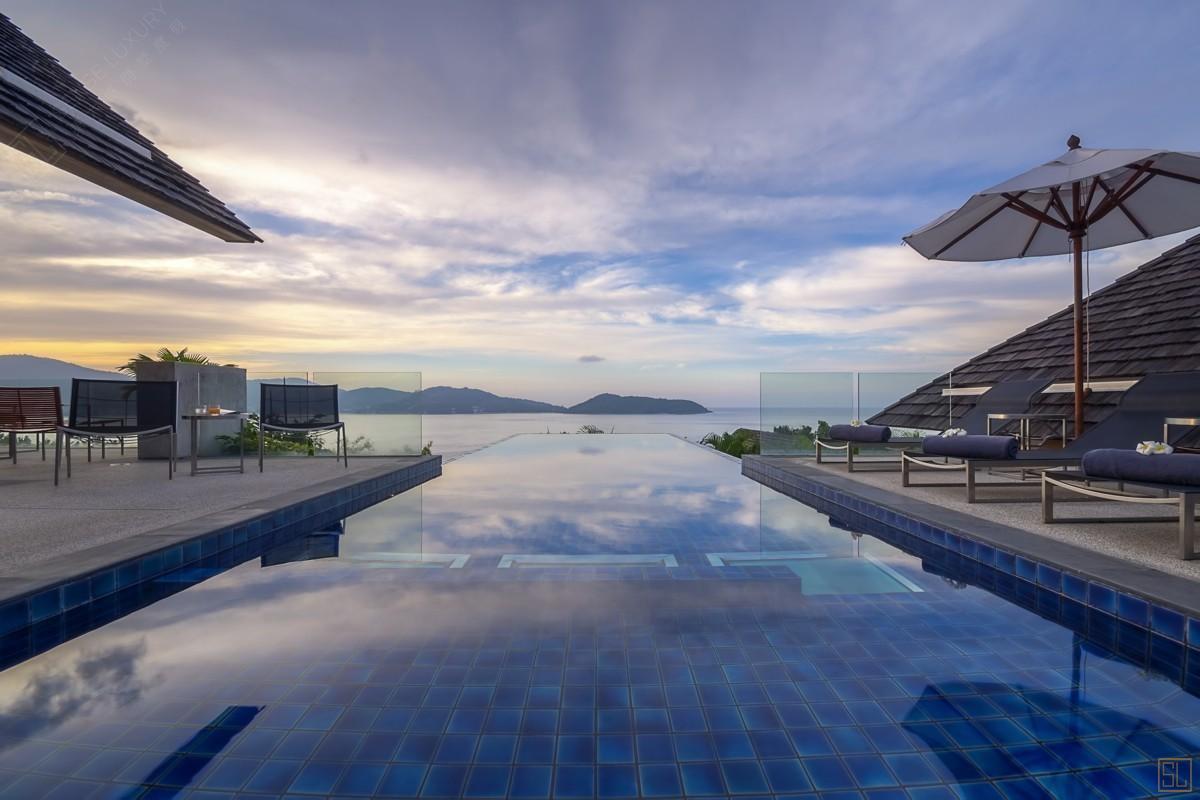 泰国普吉岛萨姆萨拉-班雅诗瑞别墅海景