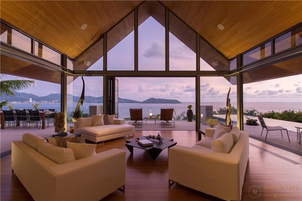 泰国普吉岛萨姆萨拉-班雅诗瑞别墅客厅