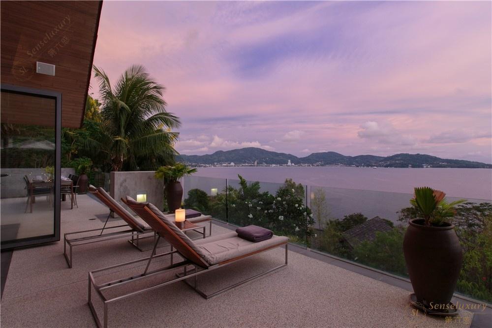 泰国普吉岛萨姆萨拉-班雅诗瑞别墅阳台