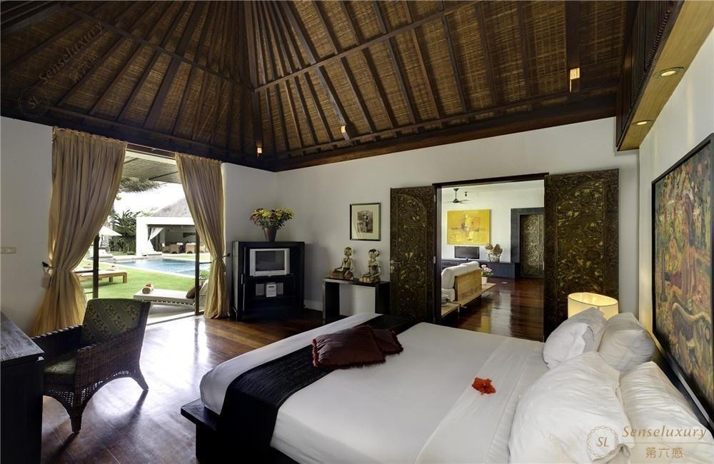 印尼巴厘岛玛雅海滨别墅卧室