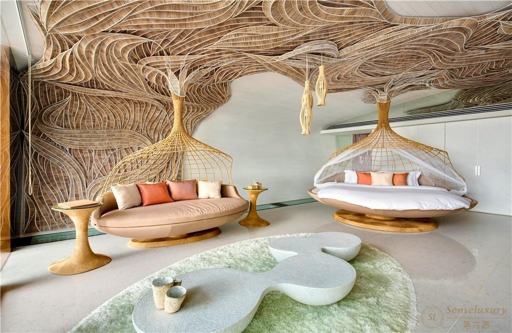泰國普吉島暹羅別墅沙發