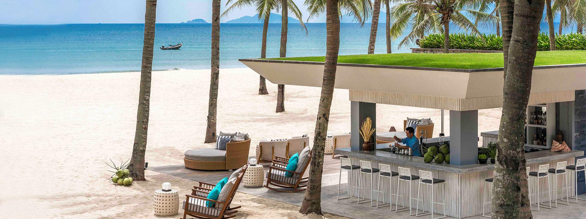 越南会安四季酒店越南最佳海边度假酒店