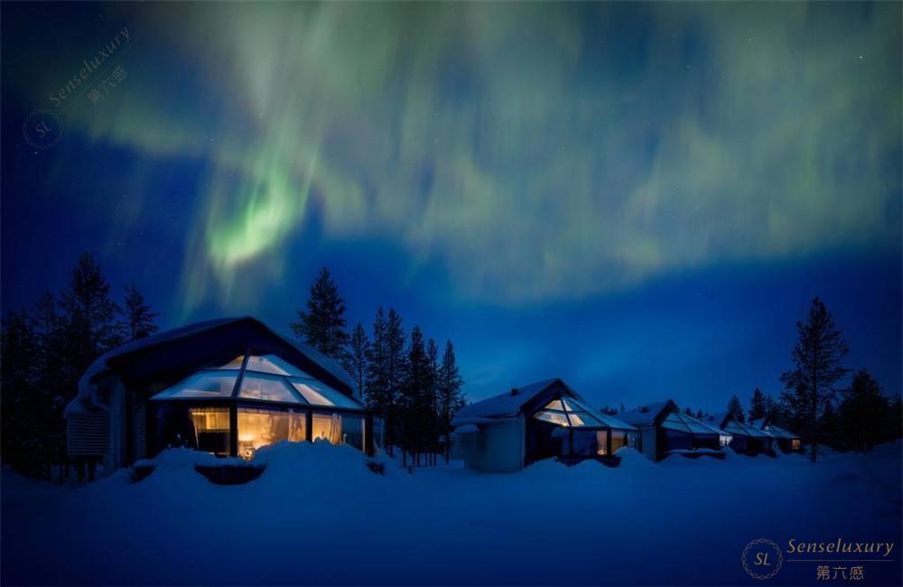芬兰玻璃屋_罗瓦涅米圣诞老人北极圈玻璃雪屋在线预订及价格查询-第六感 ...