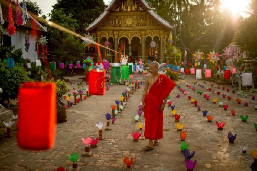 穿越千年遇见你~当老挝琅勃拉邦遇见柬埔寨暹粒碰撞出的花火